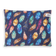 Feather Scatter Indigo – LARGE Pet Bed