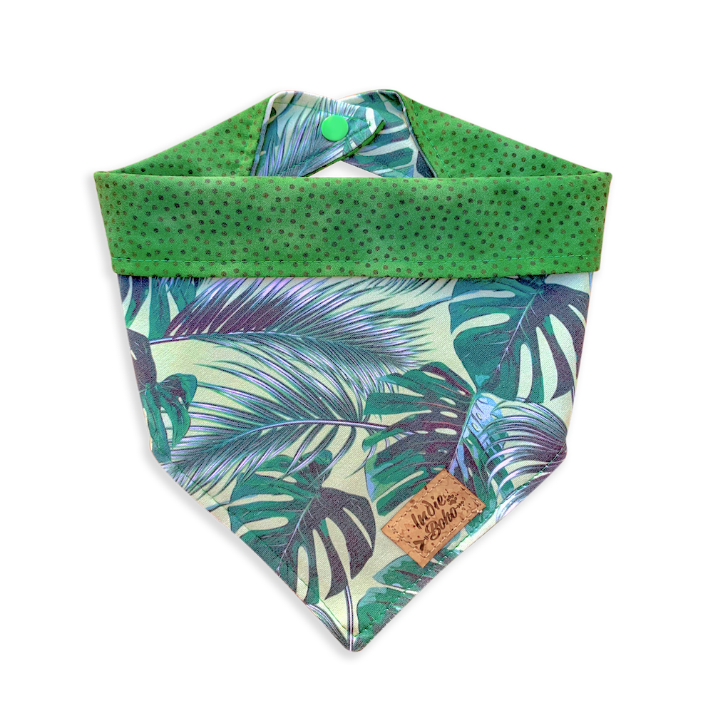 Tropical Leaves Bandanas
