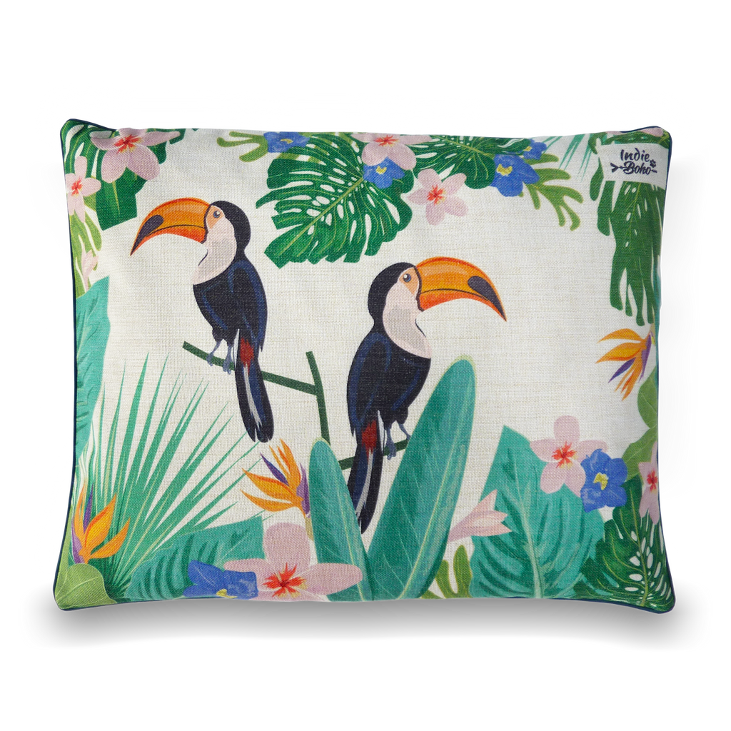 Flamingo (Toucan) Paradise – LARGE Dog Bed
