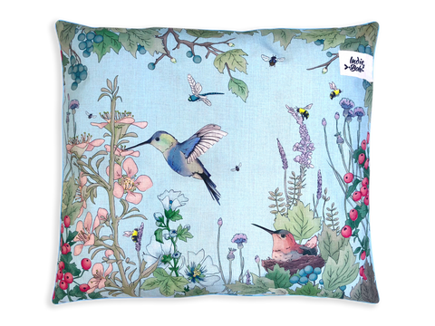 Indie ECO Pet Bed - Hummingbird Fields