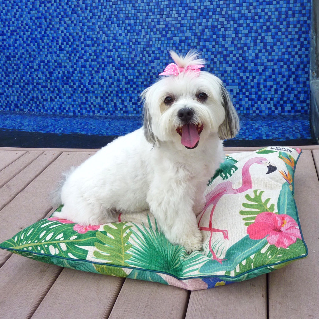 Flamingo Paradise – MEDIUM Pet Bed