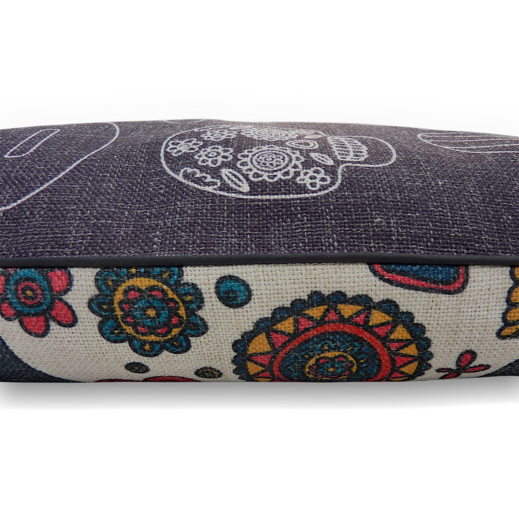 Mexican Skulls – LARGE Pet Bed