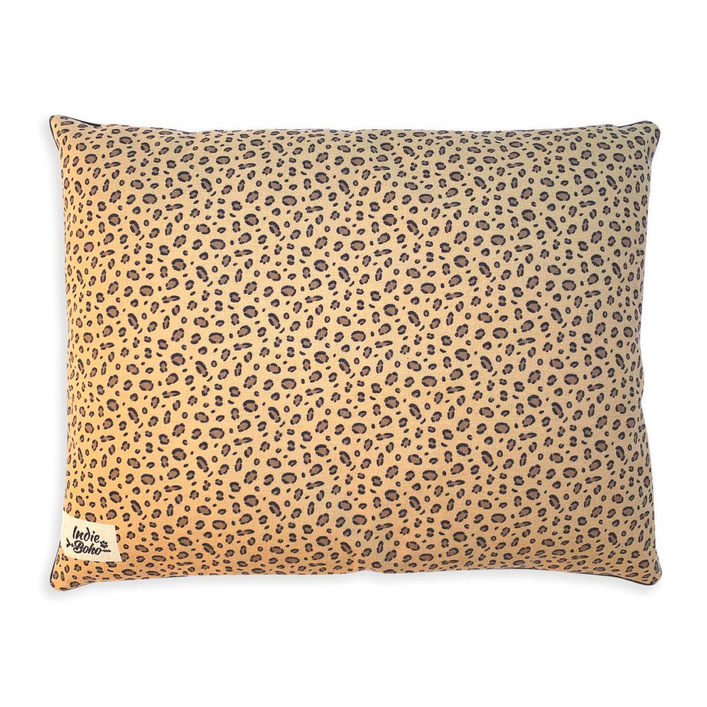 Leopard Luxe - LARGE Pet Bed