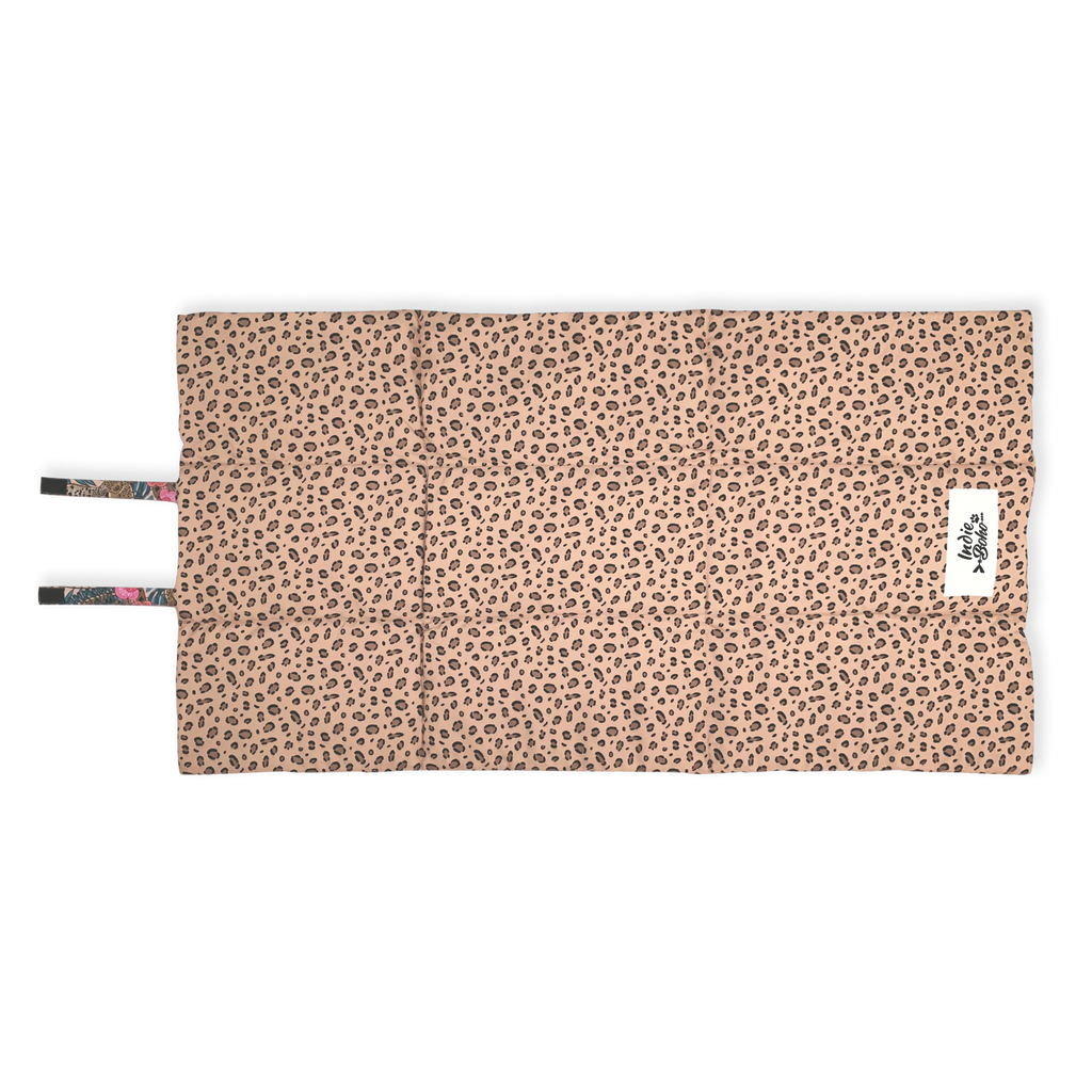 Leopard Luxe Dog Travel Mat