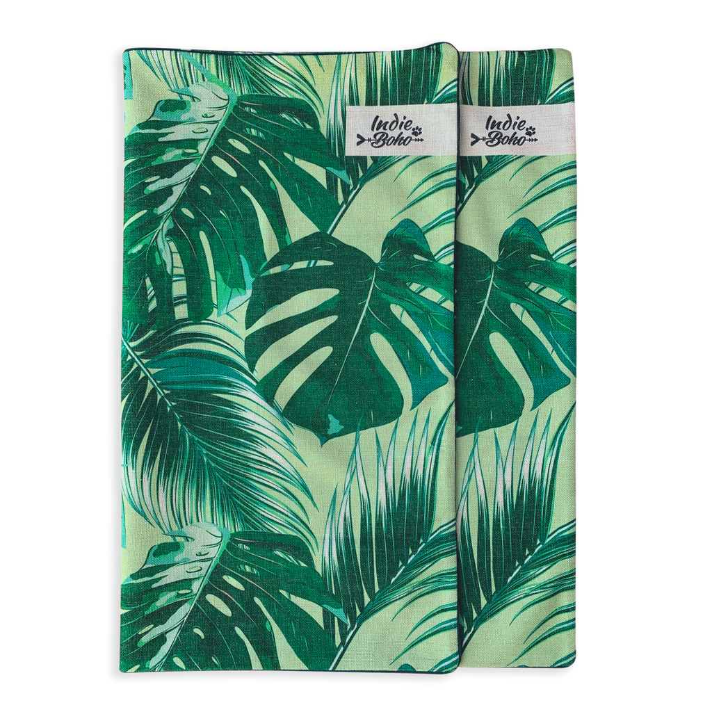Additional Bed Cover - Tropical Leaves