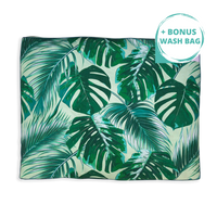 Tropical Leaves – XXL Dog Bed