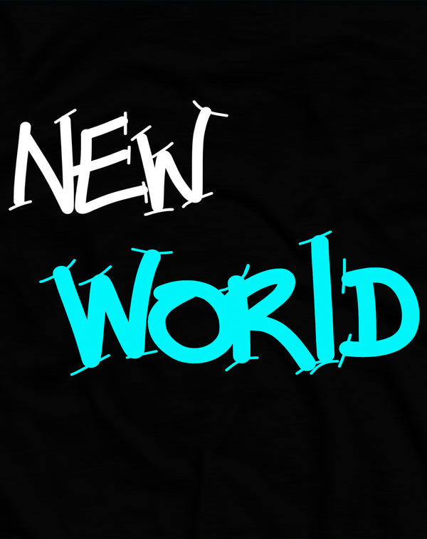 T-SHIRT NEW WORLD