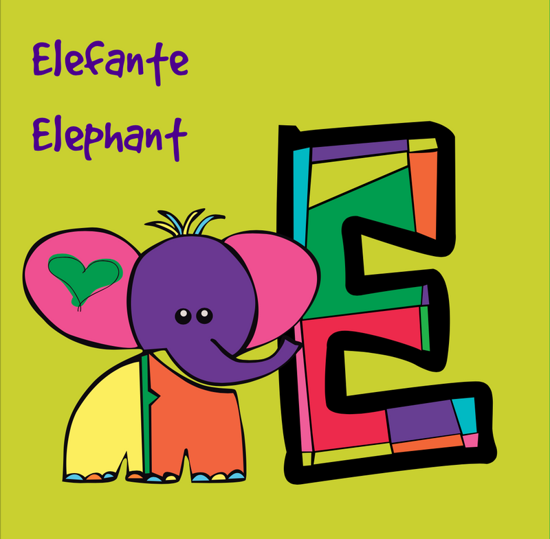 ANIMAL ABC BOOK BILINGUAL - SOFT COVER