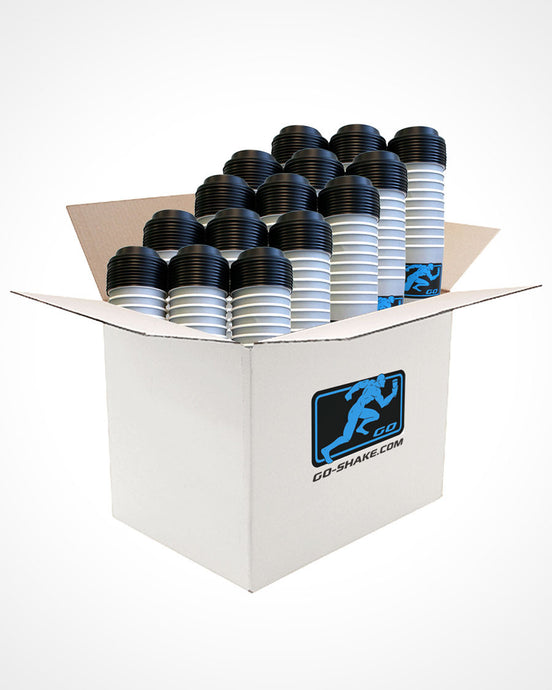 GO-SHAKE Disposable Shaker TEAM CASE (540 PACK) - Free Shipping