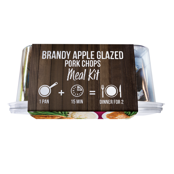 Brandy Apple Glazed Pork Chops