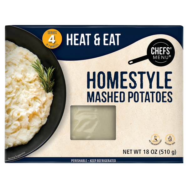 Homestyle Mashed Potatoes