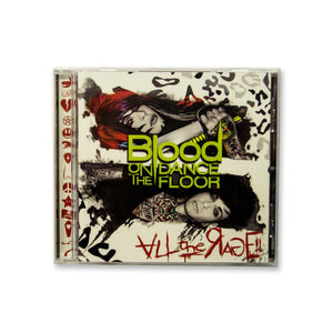 "Blood on the Dance Floor ""All The Rage"" CD"