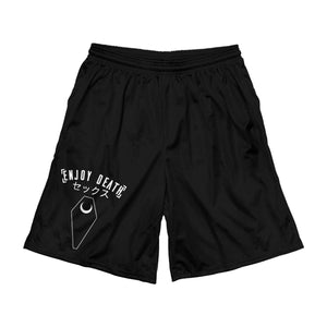 "Enjoy Death ""Coffin"" Basketball Shorts"