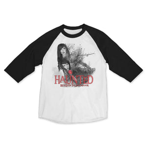 "Blood on the Dance Floor ""Haunted"" Raglan"