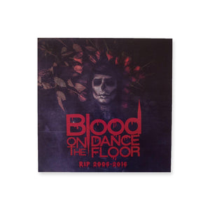"Blood on the Dance Floor ""RIP"" Poster"