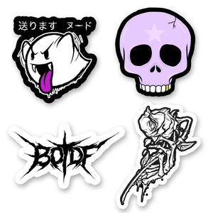 "Enjoy Death ""Sticker"" Sticker Pack"