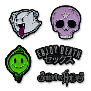 "Enjoy Death ""Pin"" Pin Pack"