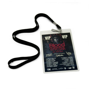 "Blood on the Dance Floor ""RIP 2006-2016"" VIP Laminate w/ lanyard"