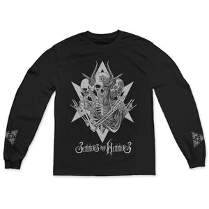 "Sinners Are Winners ""Skeletons Star"" Long Sleeve"