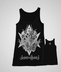 "Sinners Are Winners ""Skeleton"" Tank Top"