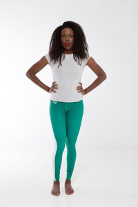 Nigeria Flag Printed Leggings | Island Printed Leggings Caribbean Clothing