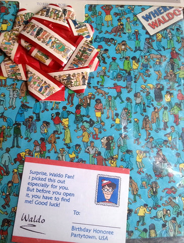 Where's Waldo Gift Wrapping Paper