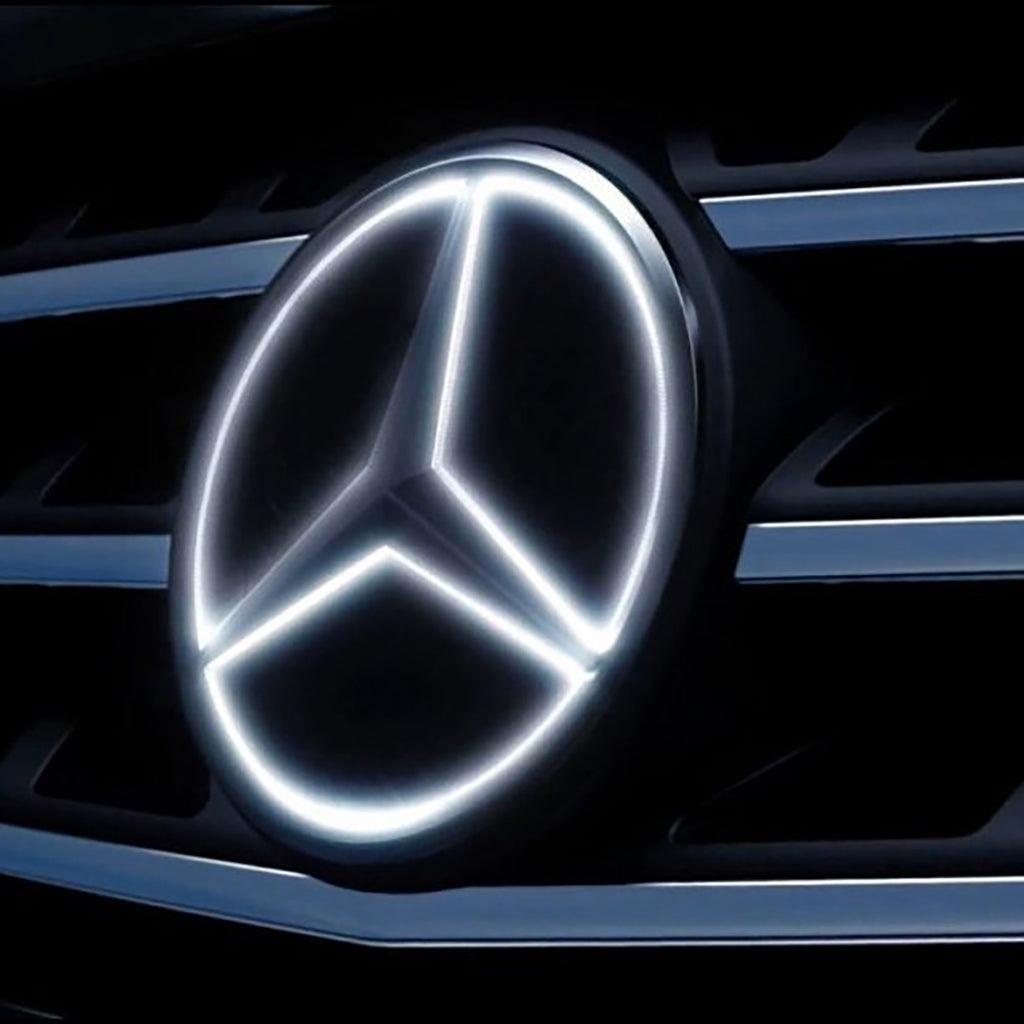 Mercedes Light Up Star