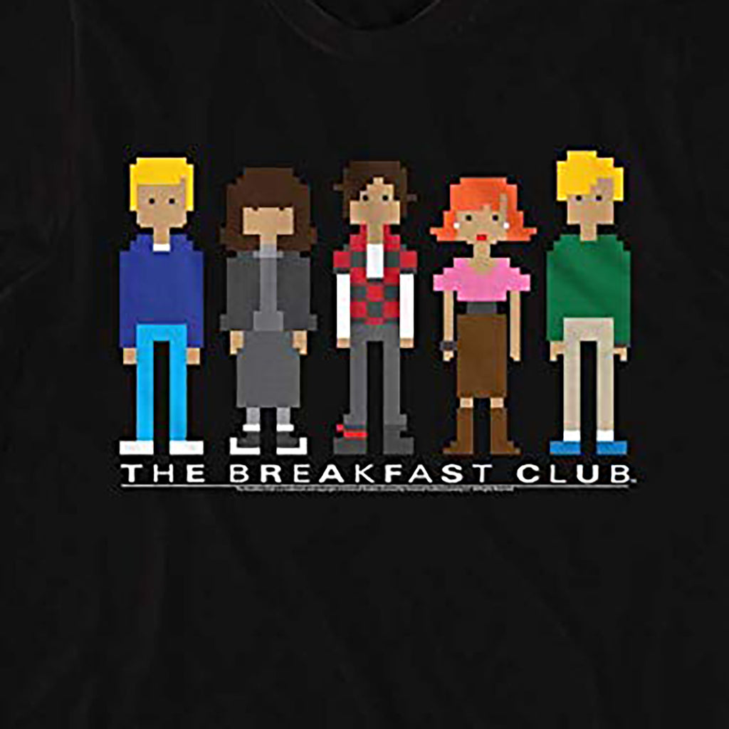 Pixel Breakfast Club T-shirt