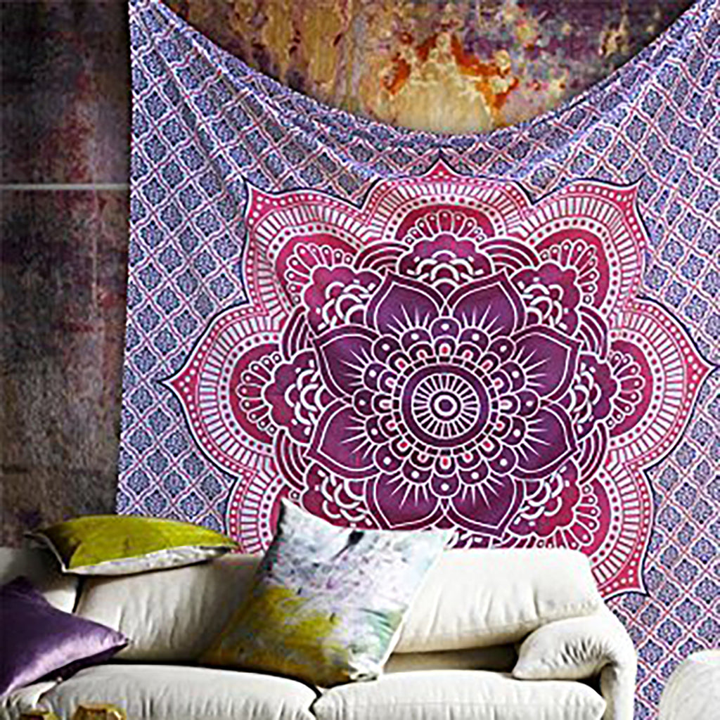 Hippie Mandala Wall Hanging Tapestry