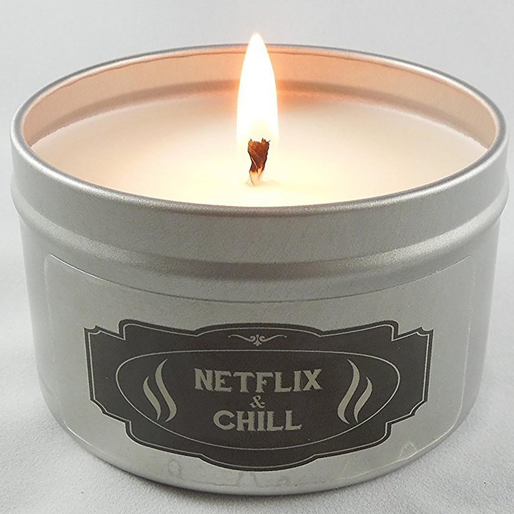 Netflix and Chill Candle