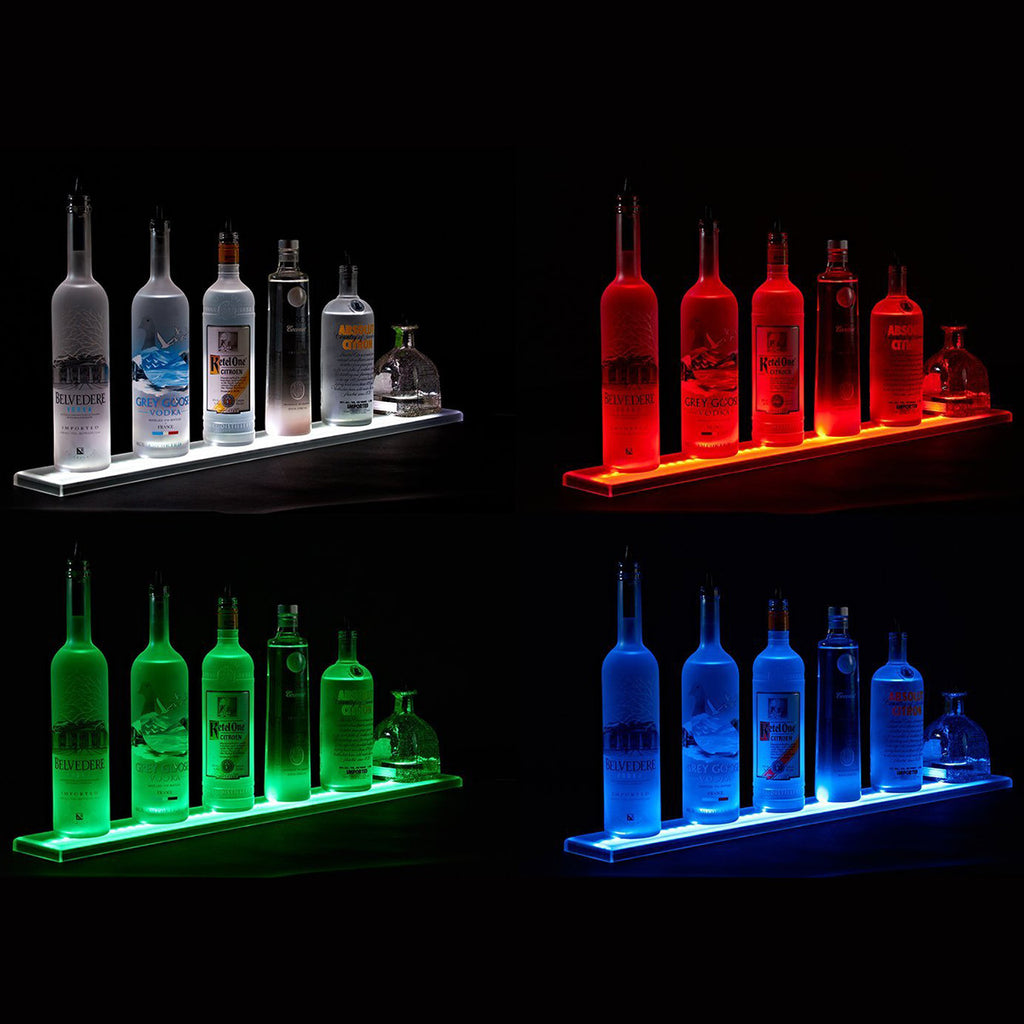 Light Up Liquor Shelf