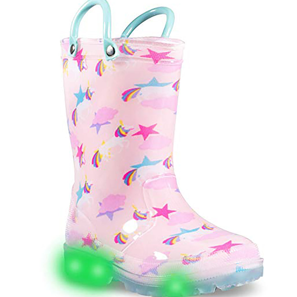 Light Up Rain Boots