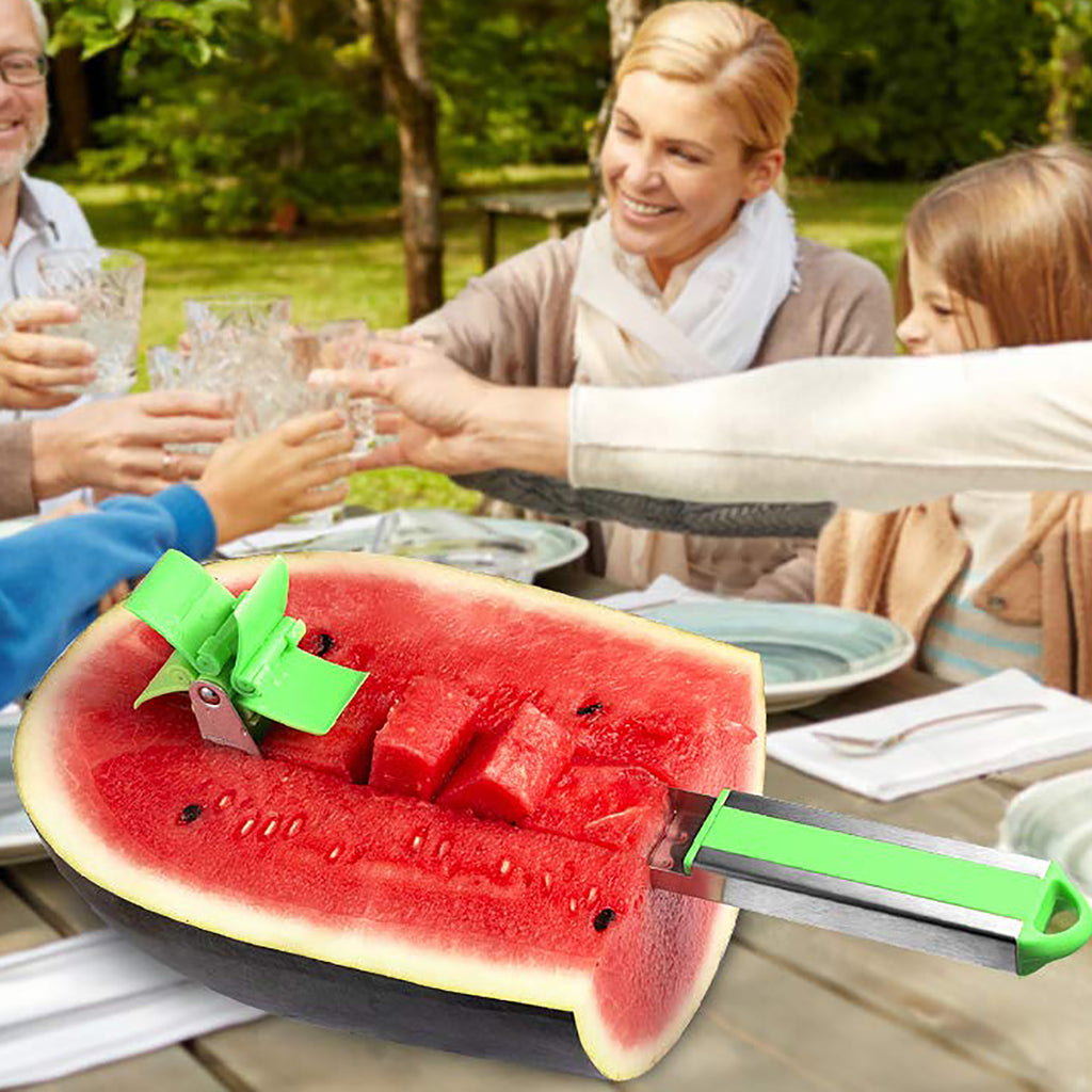 Easy Watermelon Slicing