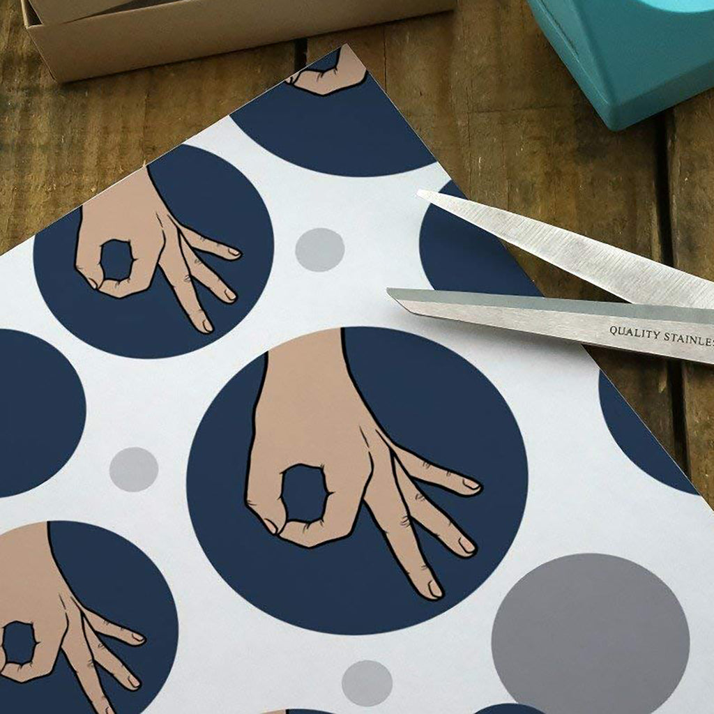 Circle Game Wrapping Paper