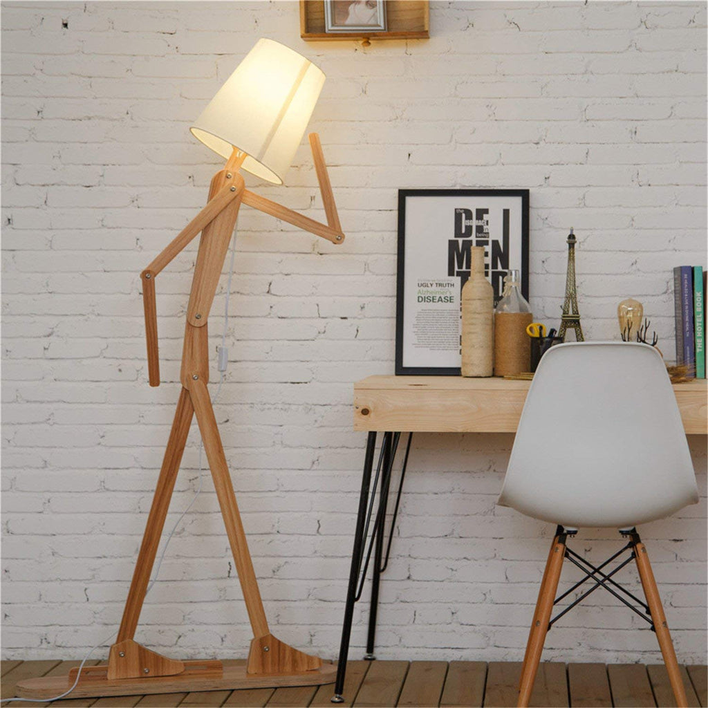 Stick Figure Lamp