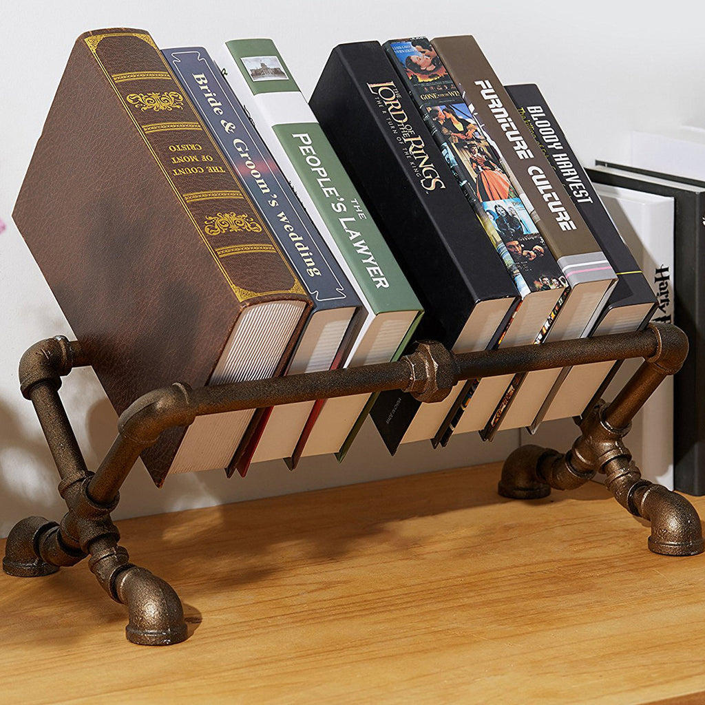 Pipe Bookstand
