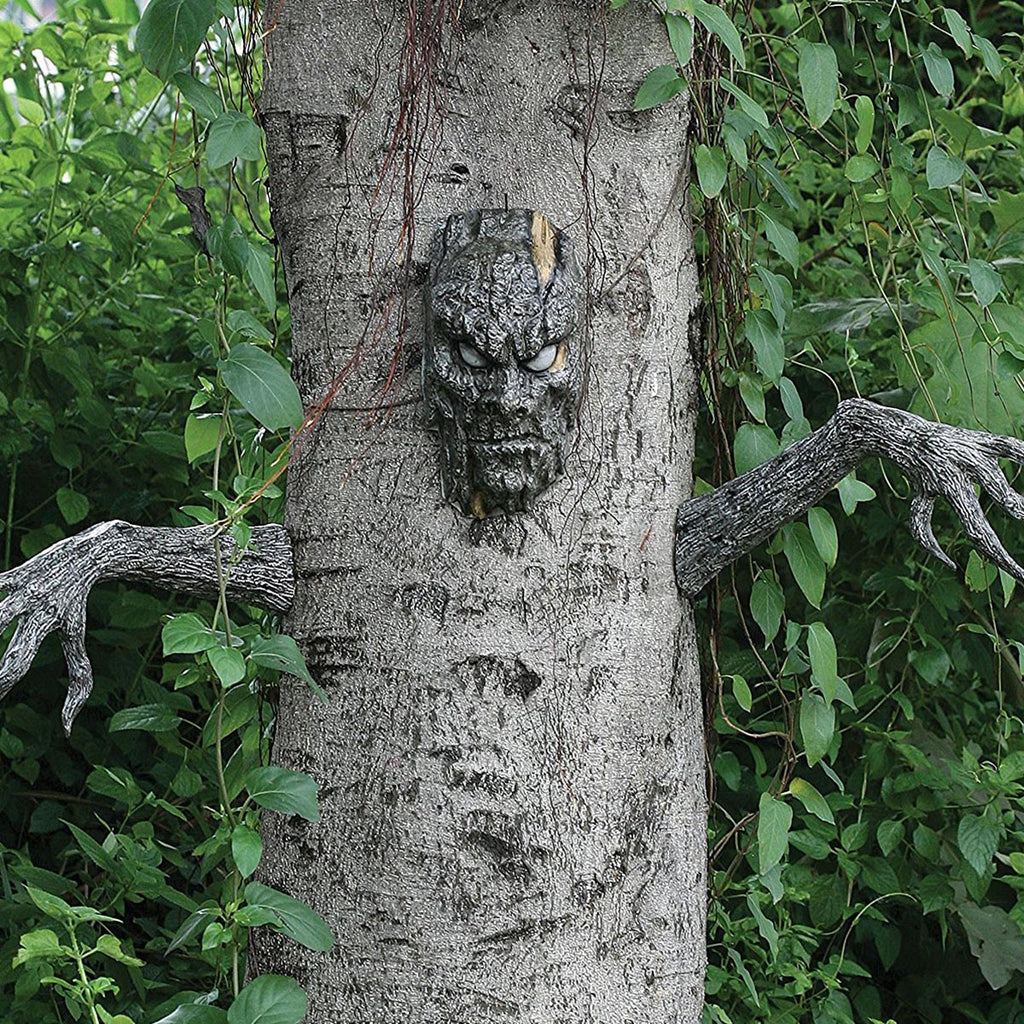 Living Tree Halloween Decor