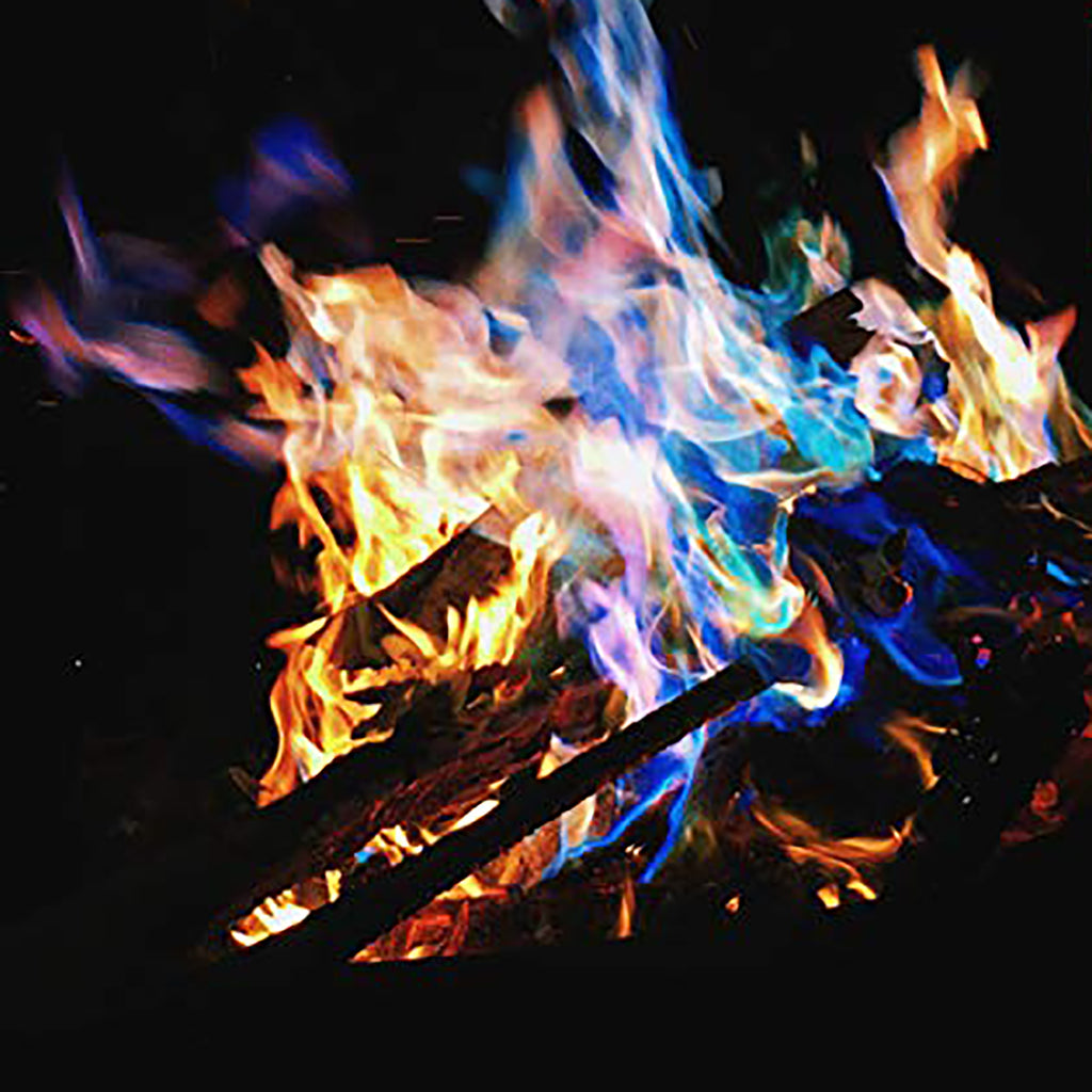 Colorful Flames