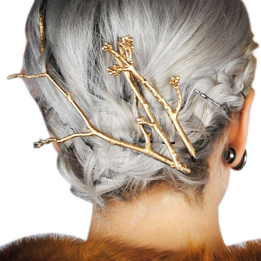 Tree Branch Hair Pin