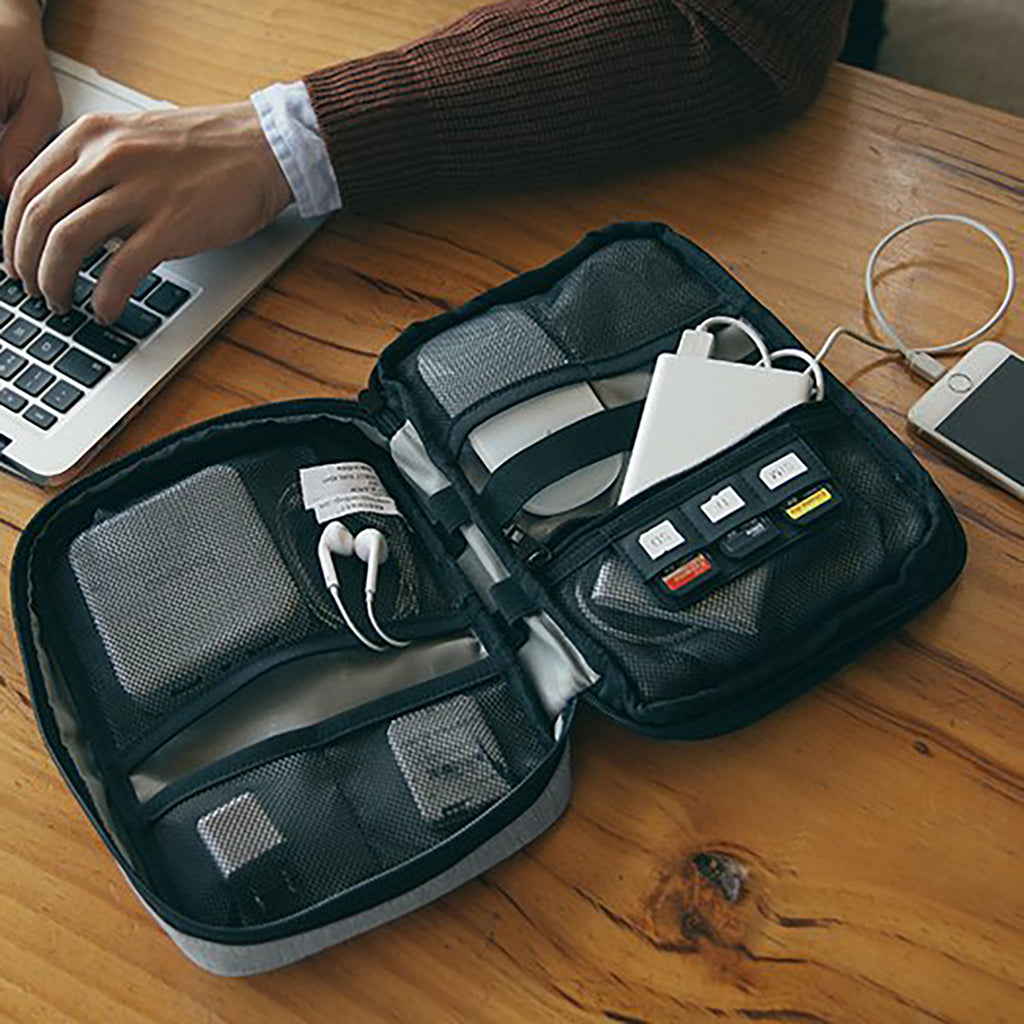 Travel Organizer For Wires