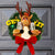 Holiday Reindeer Wreath