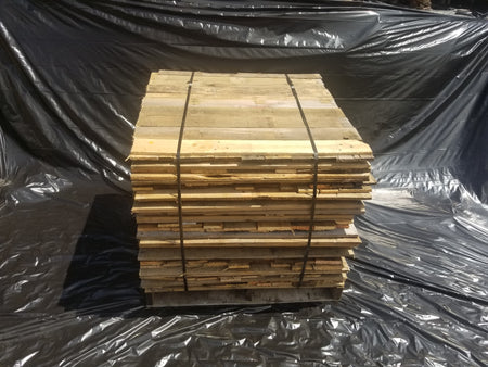 Reclaimed Pallet Boards in Bulk cube 400 pieces
