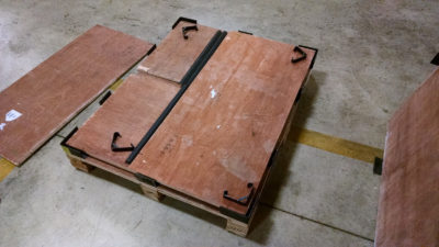 Wood Crates-Collapsible/Stackable | North Charleston