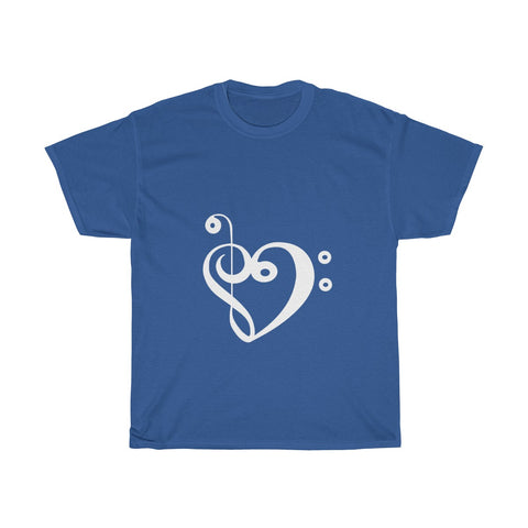 Unisex Bass & treble love short sleeve shirt