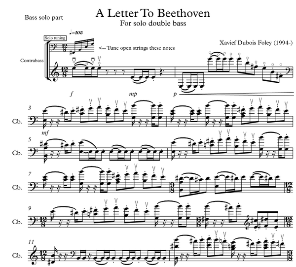 A Letter to Beethoven DUO version