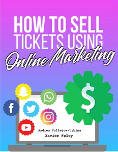 How to sell tickets using online marketing [pre-order sale]