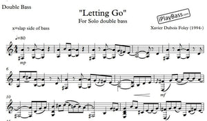 Letting Go - solo double bass