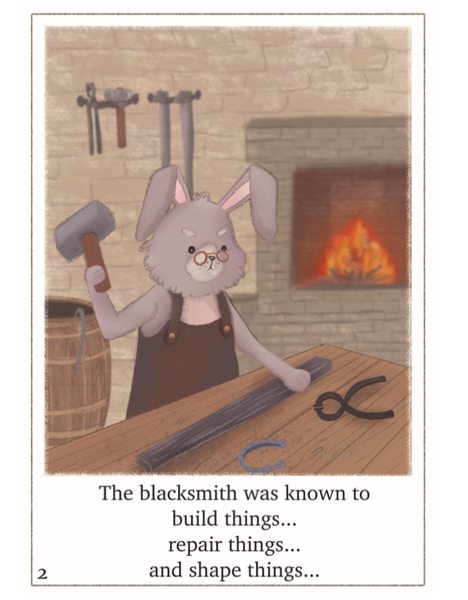 The Artist and the Blacksmith