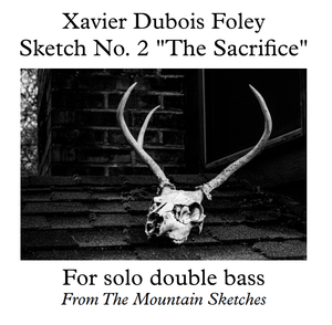 "Sketch No. 2 ""The Sacrifice"" by Xavier Foley - The Mountain Sketches"