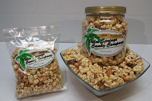 Praline Corn with Pecans and Cashews